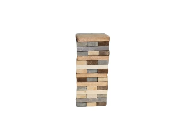 Giant Jenga (Grey/Brown)