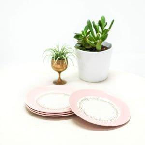 American Limoges Dessert Plates