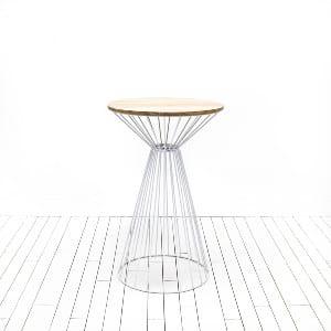 Georgia Highboy Tables - White