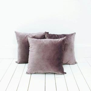Purple Velvet Pillows