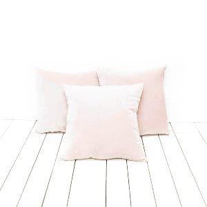 Blush Velvet Pillows