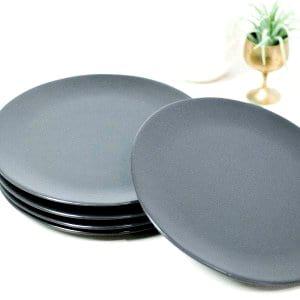 Cocoa Salad Plates