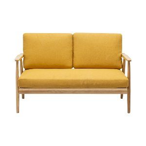Clifford Loveseat - Mustard