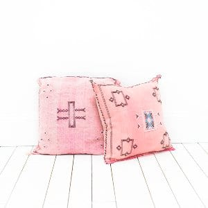 Pink Moroccan Pillows
