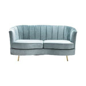 Lorena Loveseat - Pale Blue