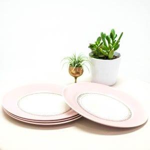 American Limoges Dinner Plates