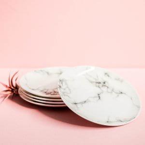Marble Salad Plates