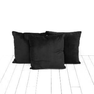 Black Velvet Pillows