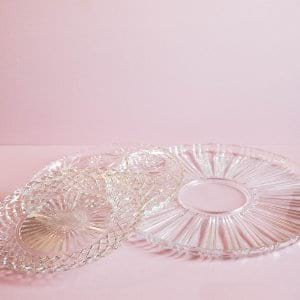 Assorted Glass Platters