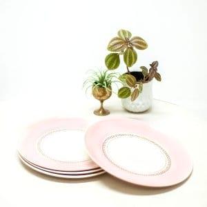 American Limoges Salad Plates