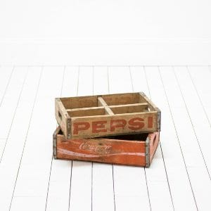 Assorted Soda Crates