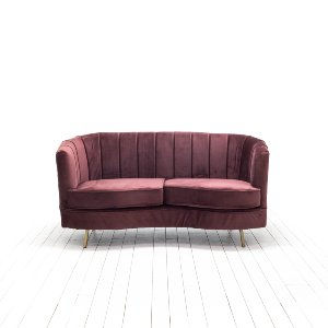 Lorena Loveseat - Fig