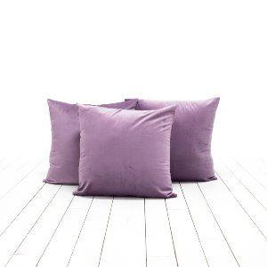 Violet Velvet Pillows