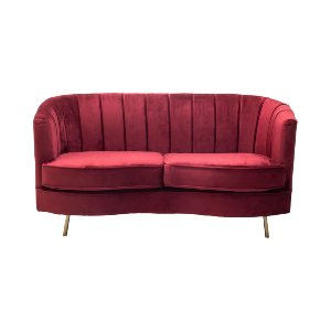 Lorena Loveseat - Cranberry