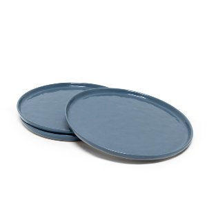 Blue Ceramic Salad Plates