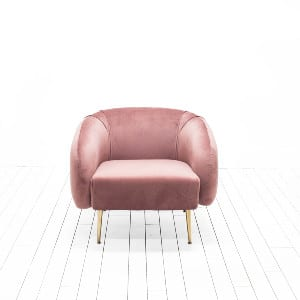 Kacy Chairs - Mauve