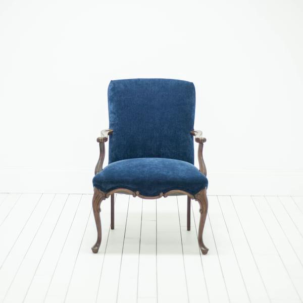Collection of vintage wedding rentals in austin - Velvet great option upholstery ...