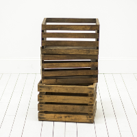 Assorted Apple Crates