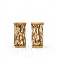 Mexican Equipale Stools
