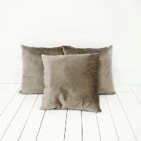 Gray Velvet Pillows
