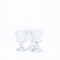 Clear Sherbet Glasses