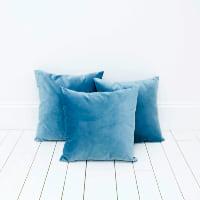 Turquoise Velvet Pillows