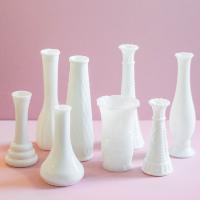Assorted Milkglass