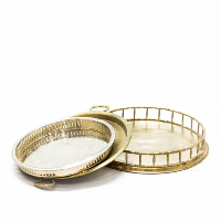 Assorted Brass Trays
