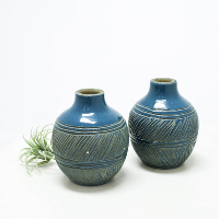 Blue Ceramic Vessels