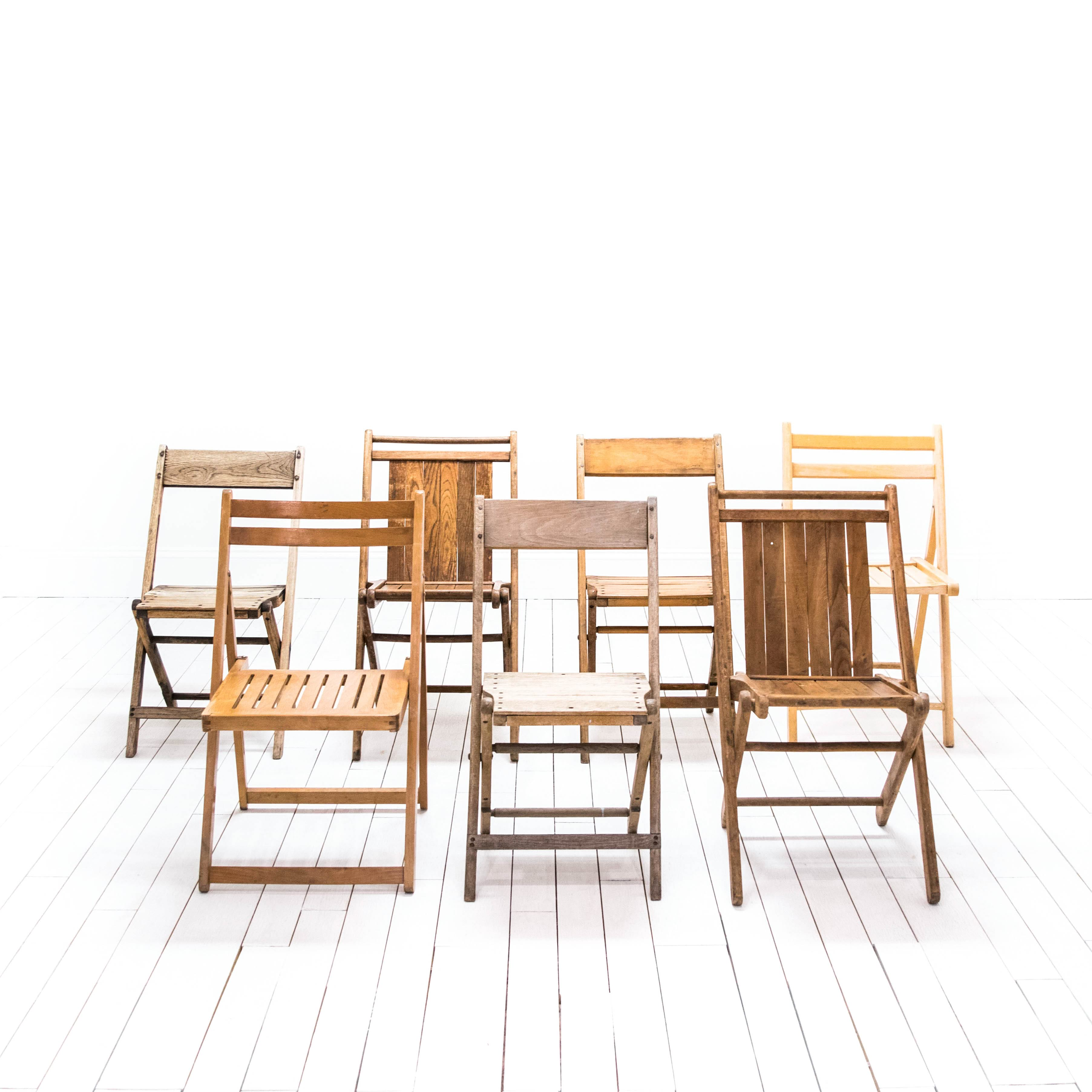 Kirby Assorted Folding Chairs