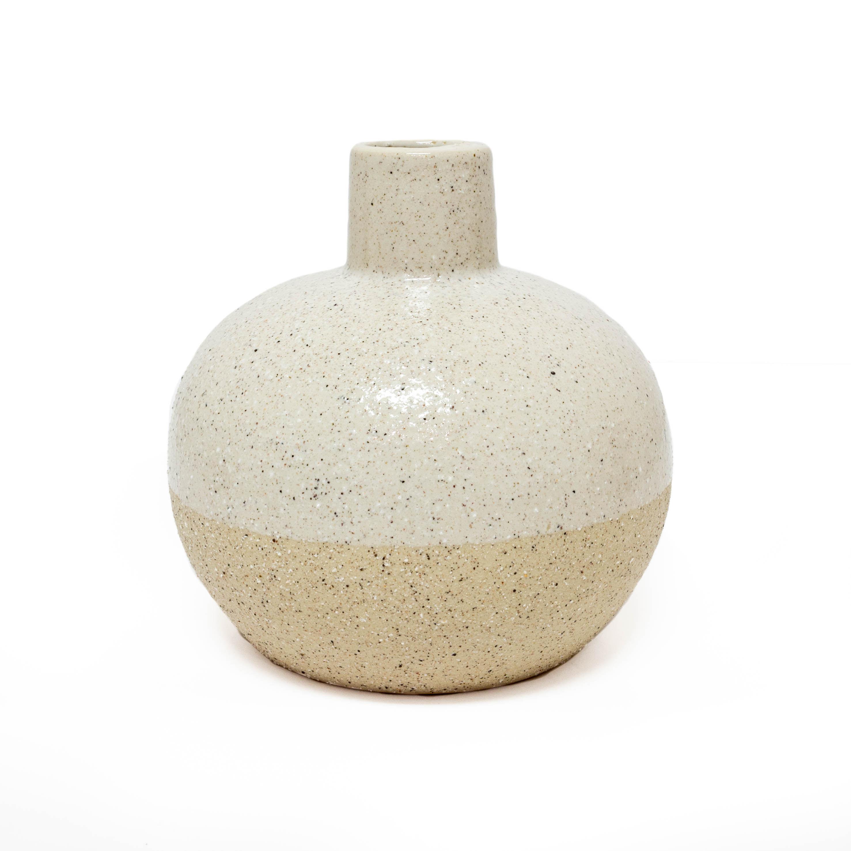 Sandy Vases - White