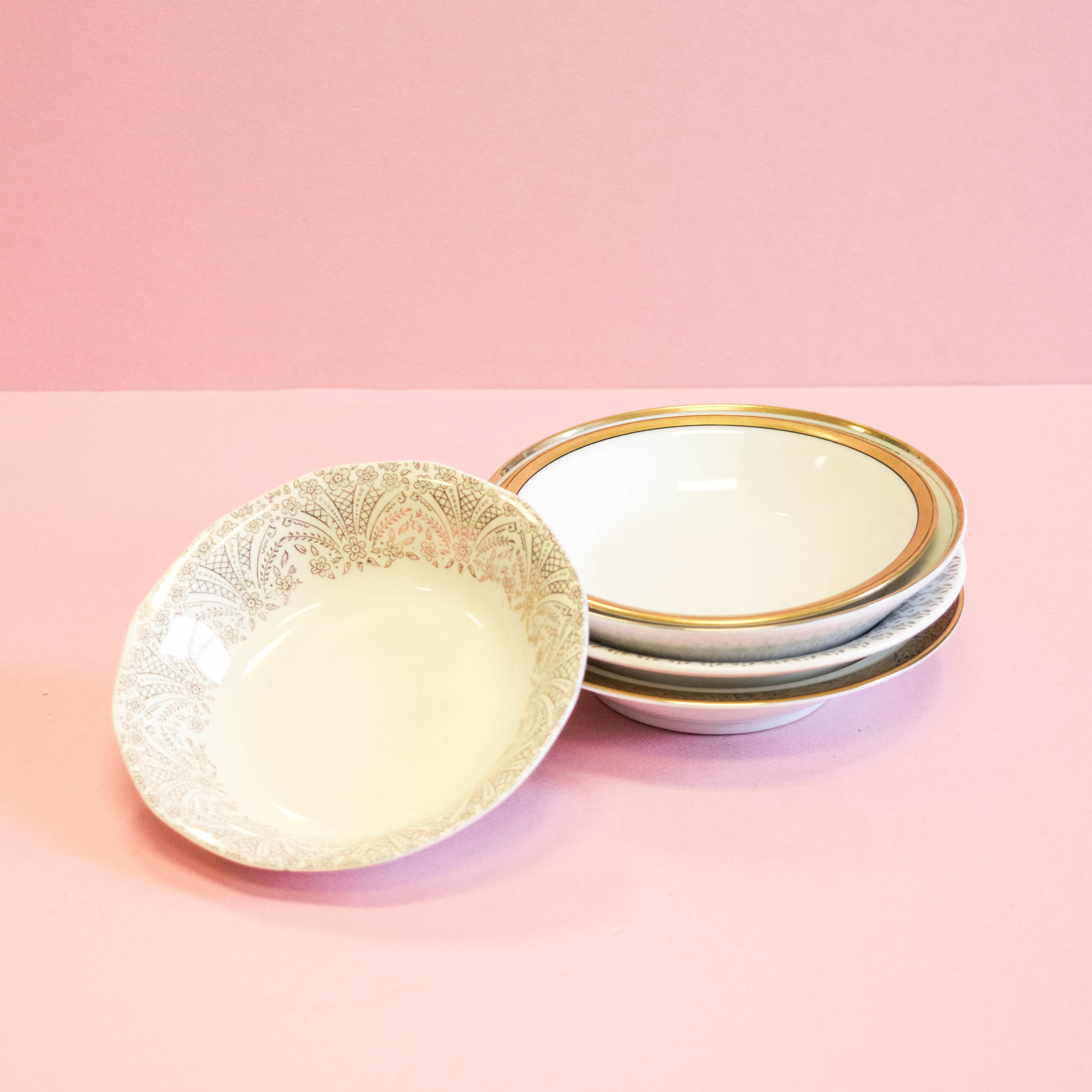 Gold Berry Bowls