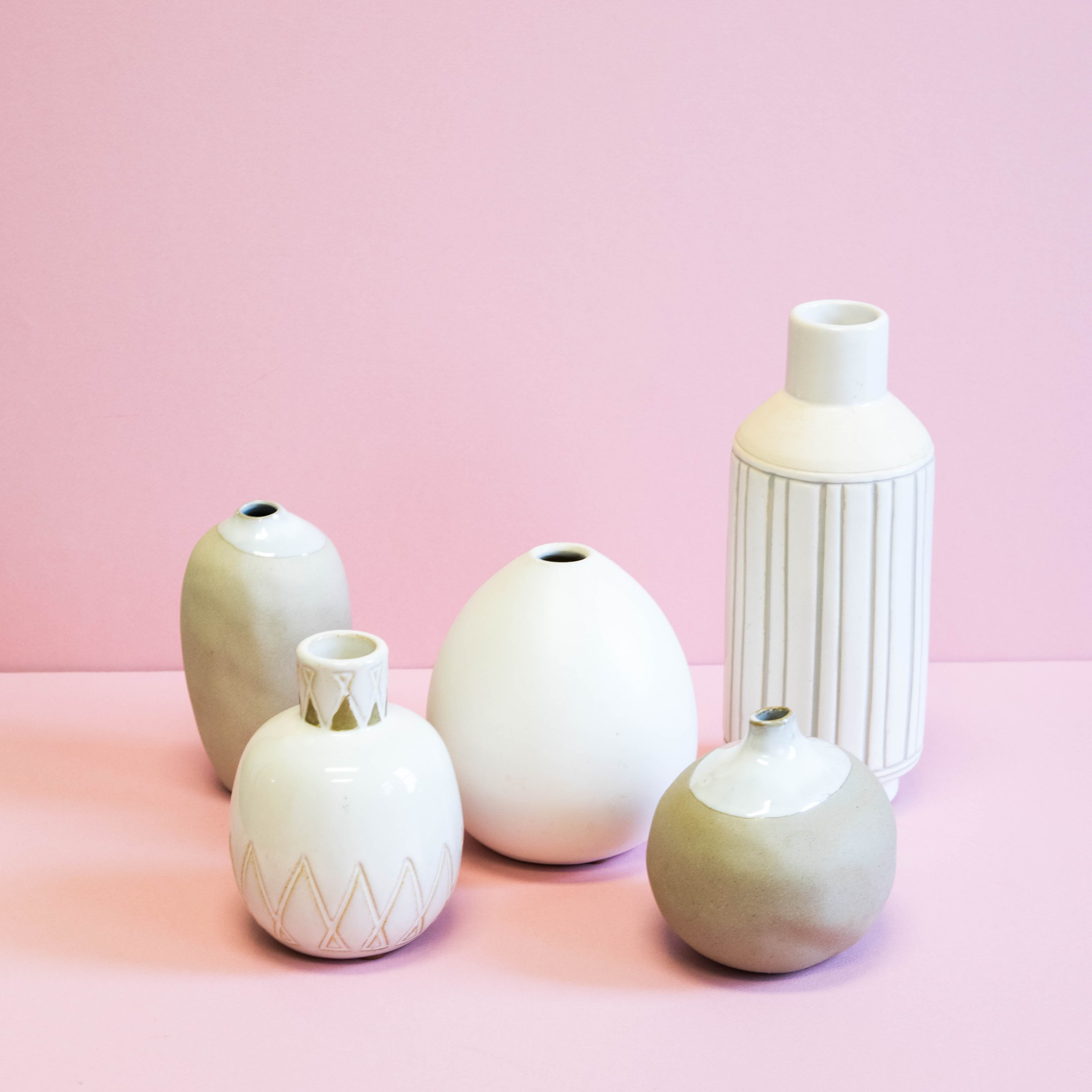 Neutral Ceramic Vessels