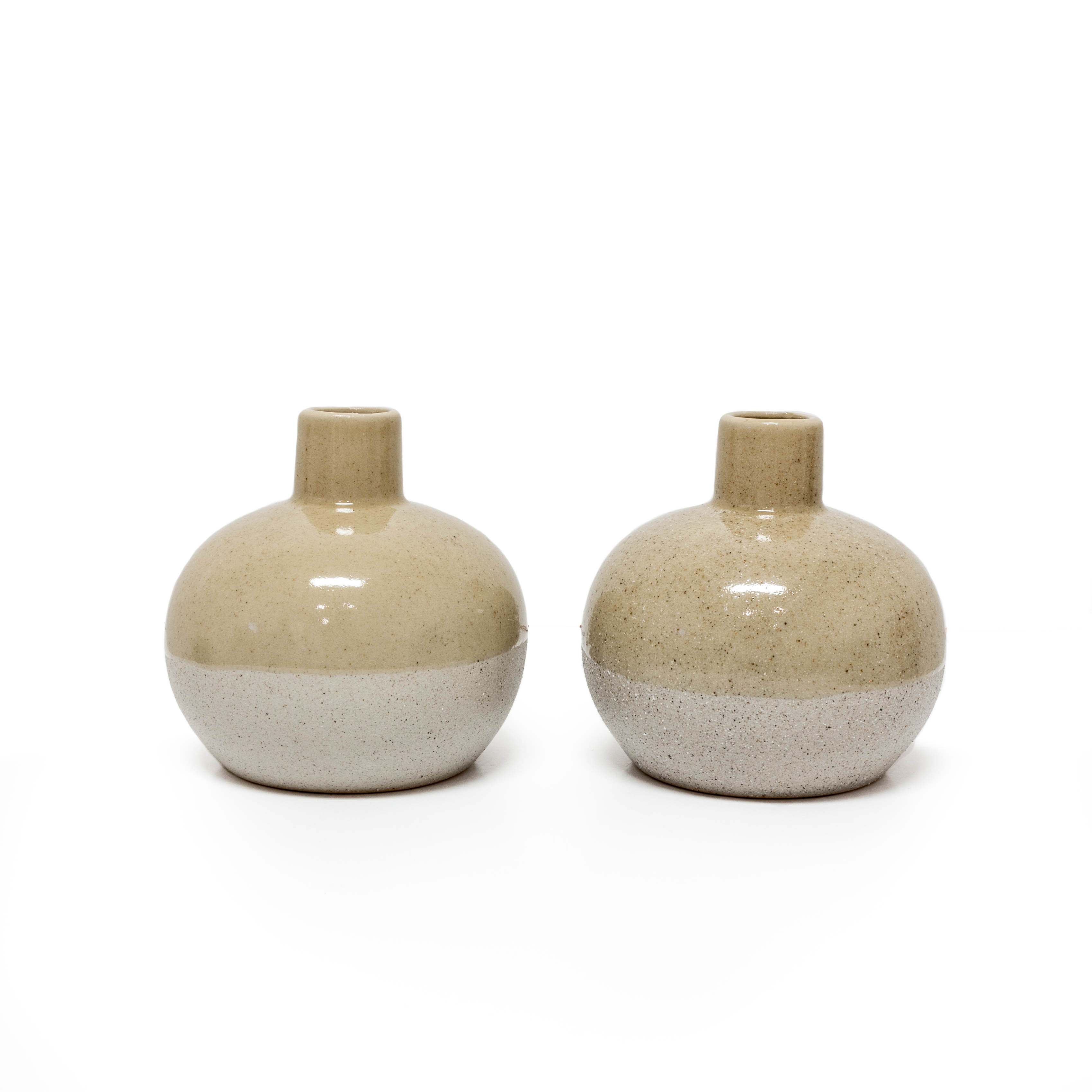 Sandy Vases - Taupe
