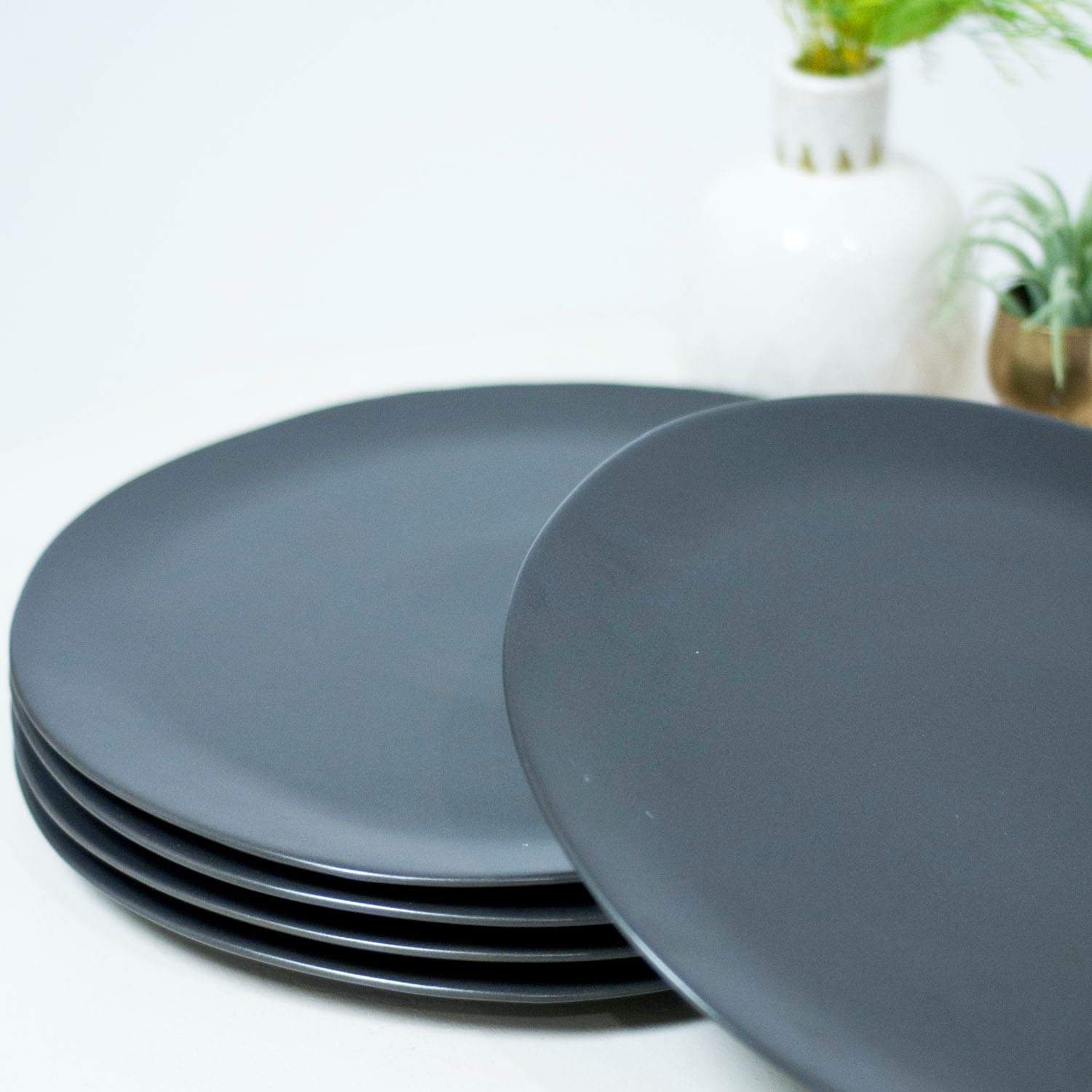 Cocoa Dinner Plates