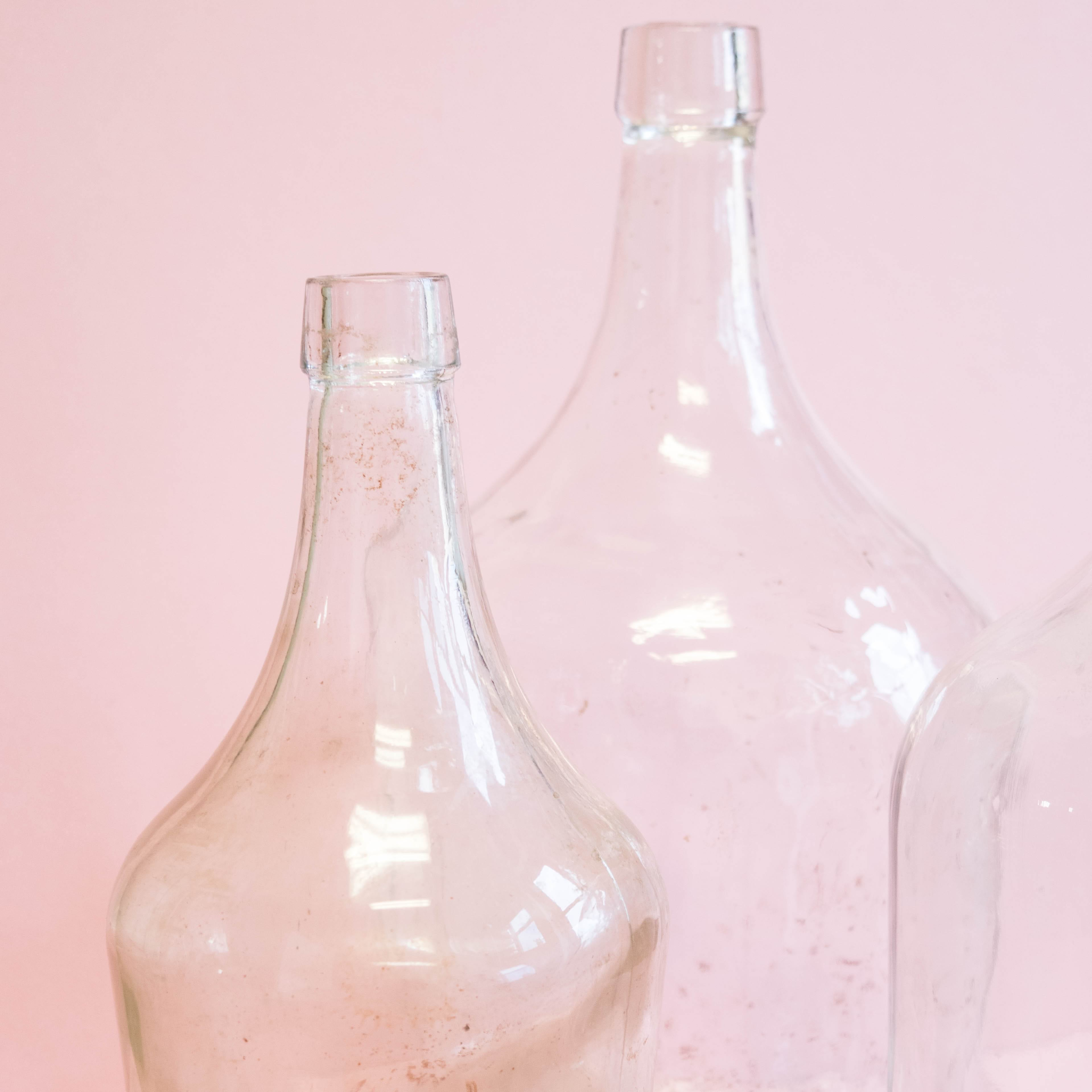 Clear Demijohns