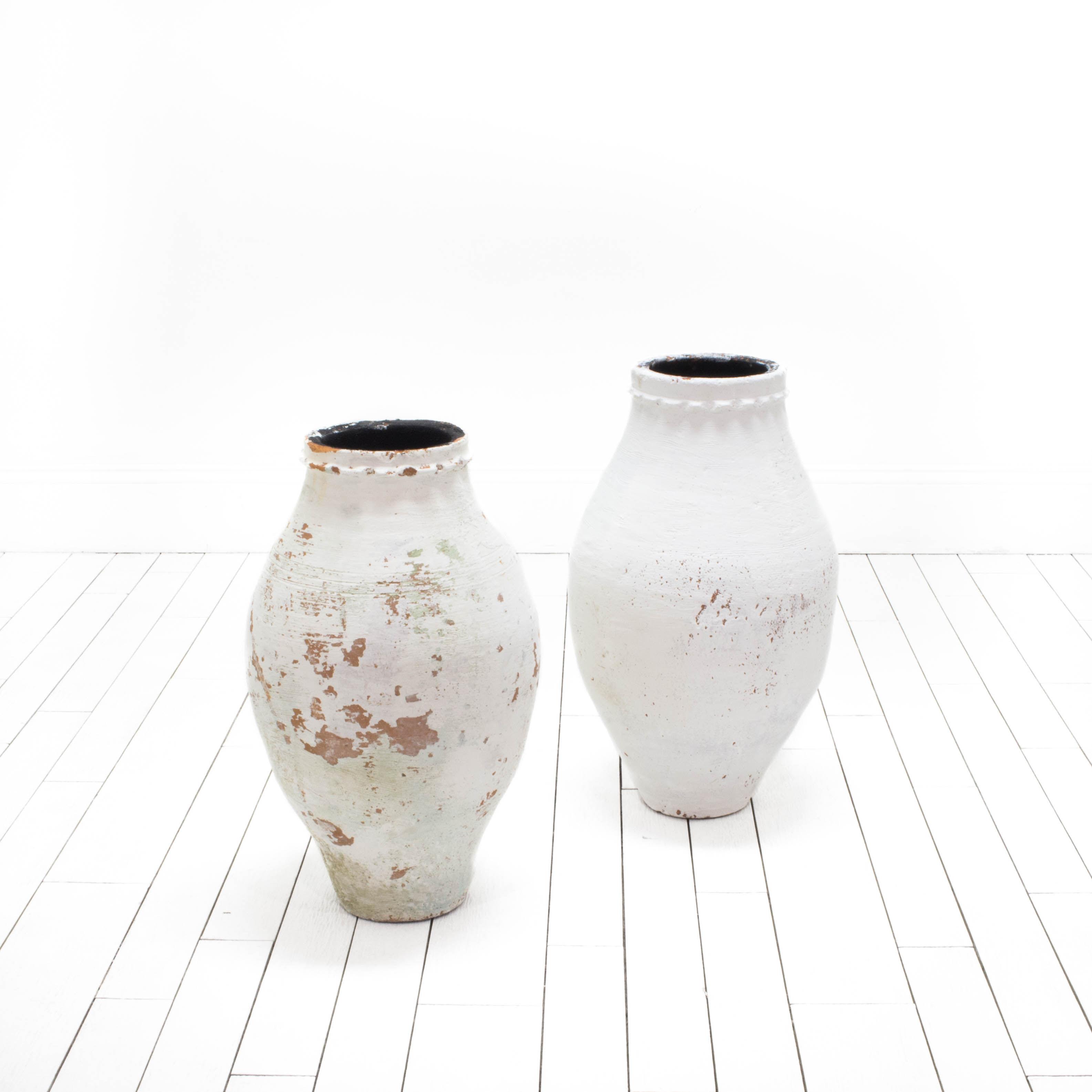 White Turkish Pottery - Large