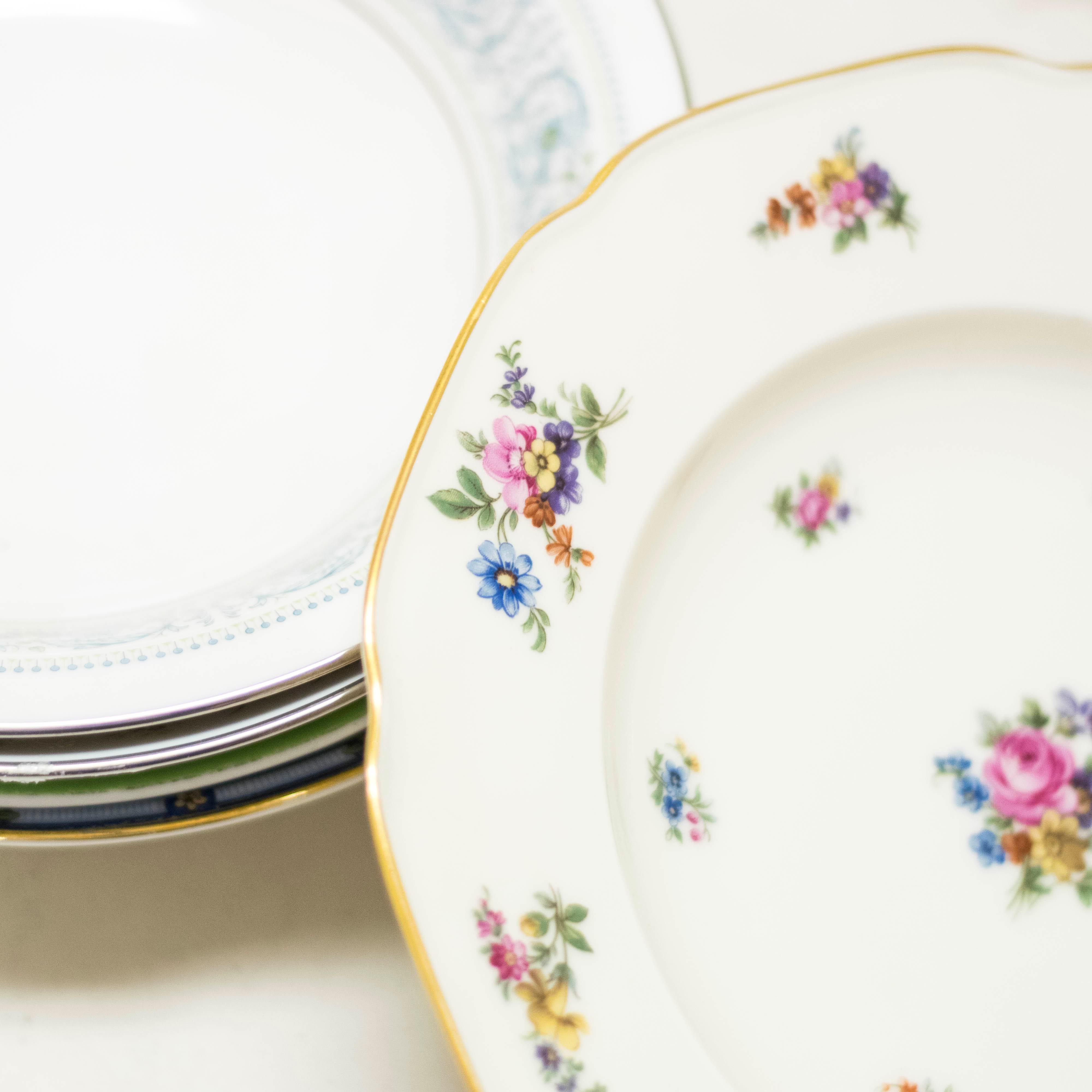 Floral Soup Bowls