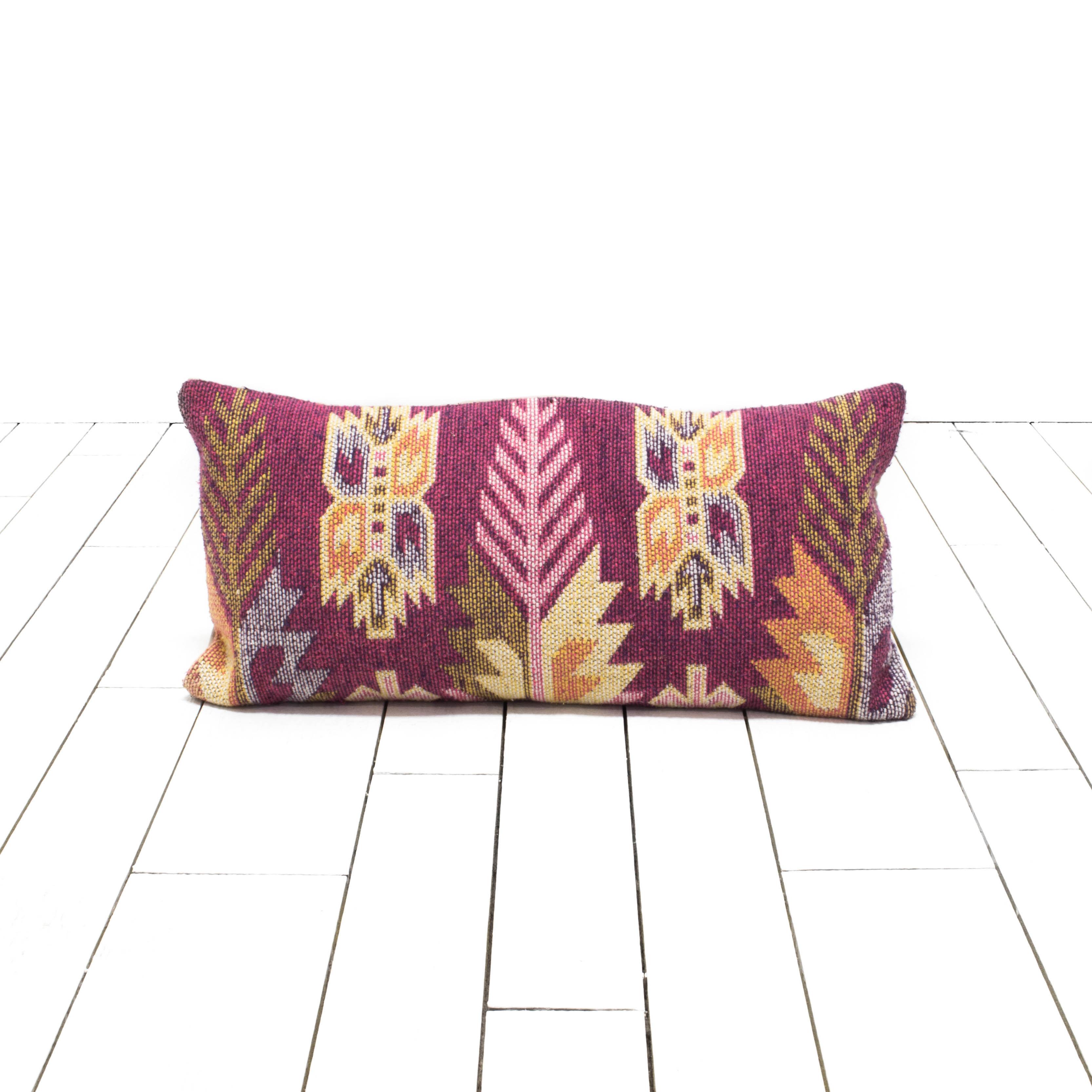 Kilim Lumbar Pillow #49