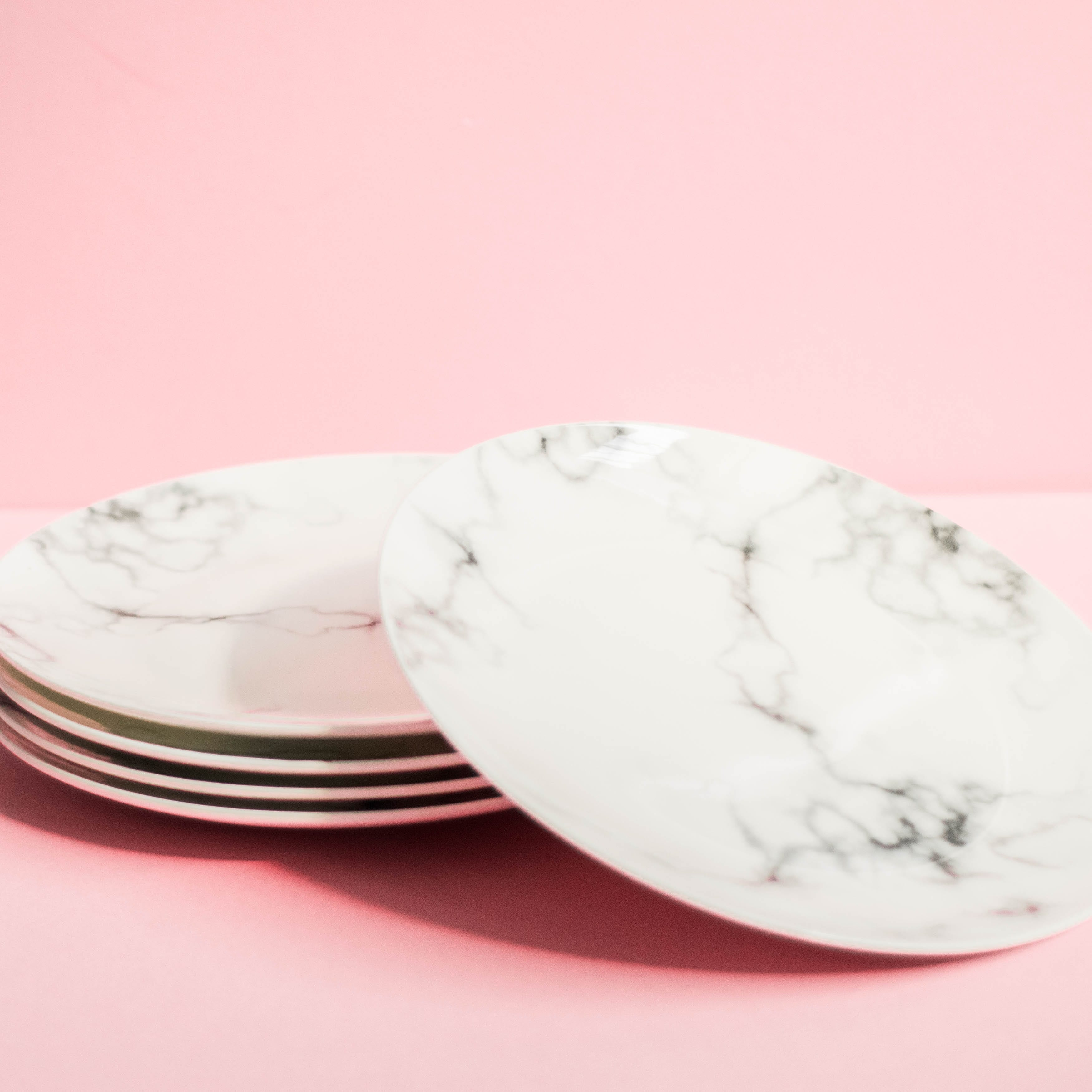 Marble Dinner Plates