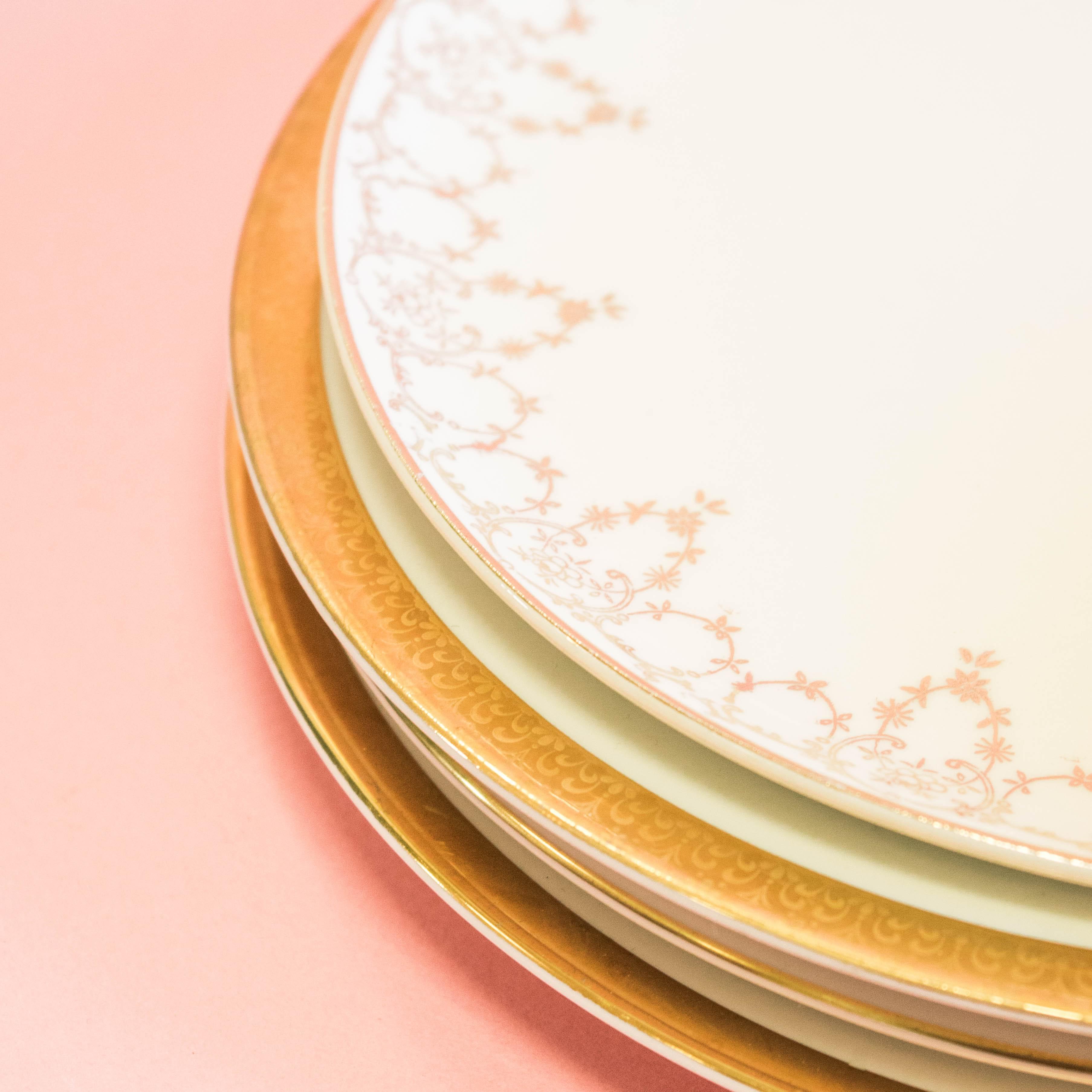 Gold Salad Plates