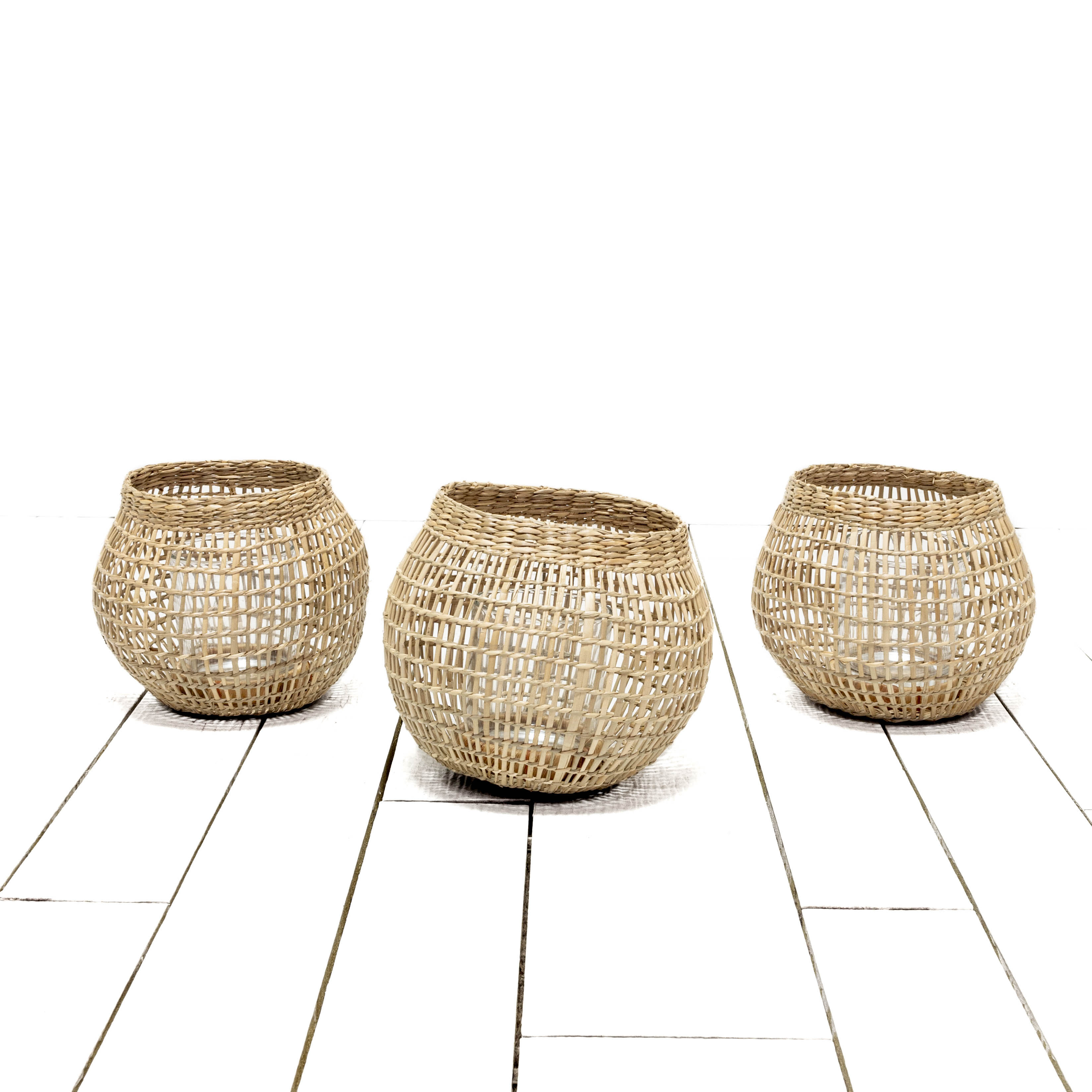 Seagrass Lanterns - Small