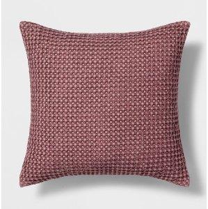 Lavender Weave Pillow