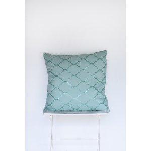 Mermaid Blue Pillow