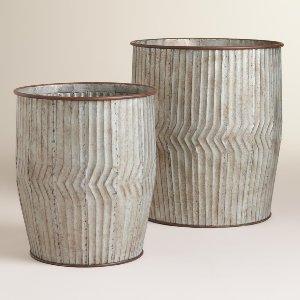 Metal Nicholas Barrels (pair)