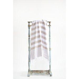 Nude Turkish Towel Throw