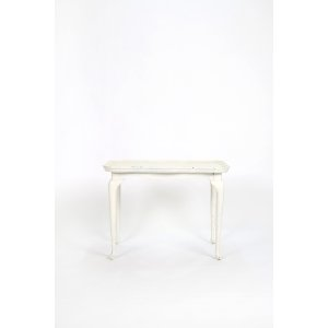 Scalloped Edge Side Table