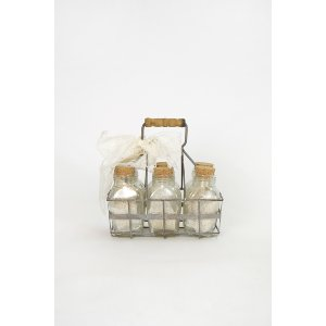 Milk Bottles & Carrier