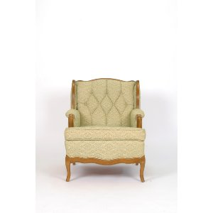 Green Tufted Sitting Chair