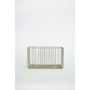 Tall Aluminum Basket
